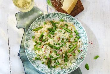 Recette de risotto onctueux aux asperges vertes facile