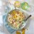 Recette healthy & sans gluten : carpaccio de fenouil parfumé au jus de grenade