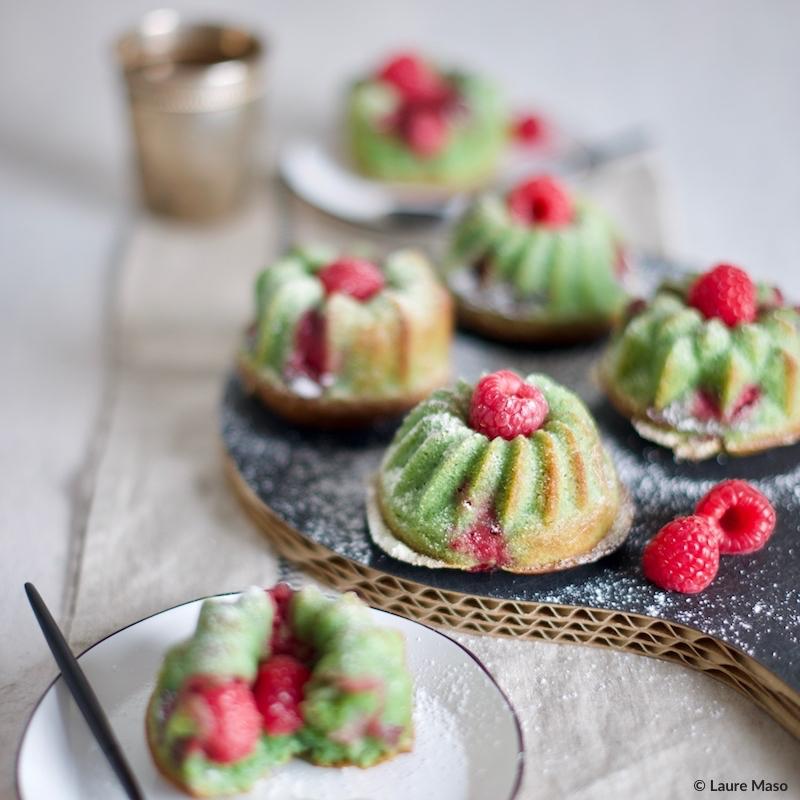labelaure blog culinaire photo culinaire recette financiers pistaches framboises