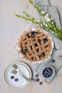 francois doucet idée recette facile blog culinaire labelaure tarte linzer myrtille photographie styliste culinaire