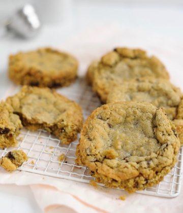 Secrets de fabrication : la recette des cookies aux flocons d'avoine so crispy !