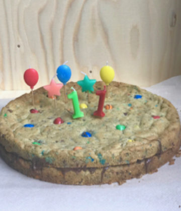 Incroyable gâteau d'anniversaire enfant : Recette de cookie géant