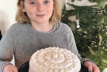 Le layer cake au citron : Un délicieux gâteau de famille