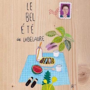 carte postale texte message original personnalisé illustration Agnès HOSTACHE