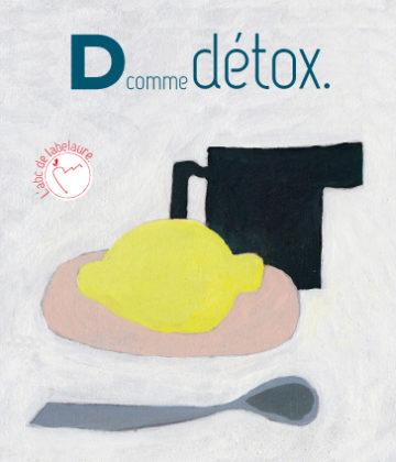 D comme DETOX. Toujours l'été grâce à nos recettes détox à base d'eaux parfumées