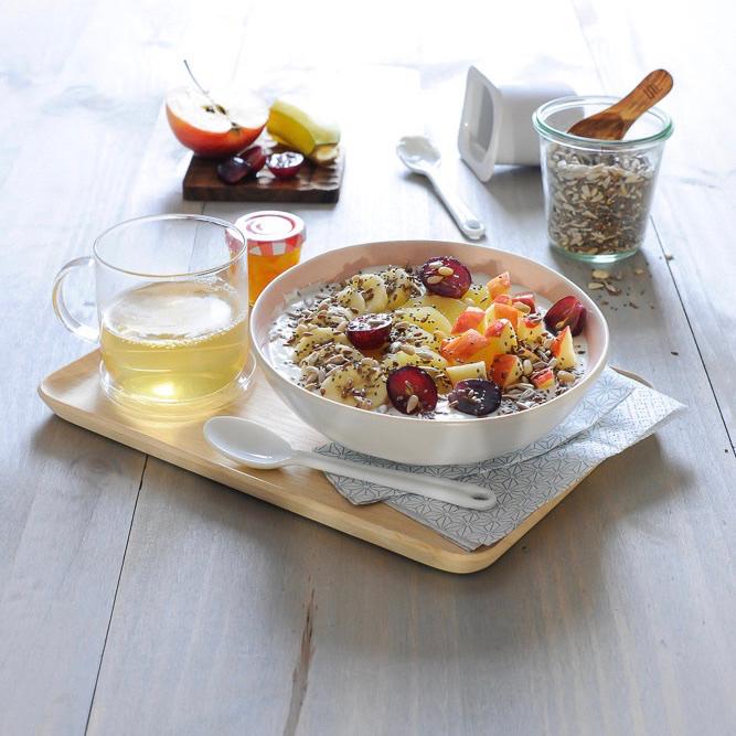 Se réveiller avec un bol de douceur pour faire le plein d'énergie !