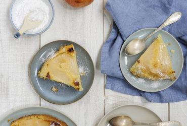 Vous allez adorer la recette du gâteau Bombard aux poires Williams