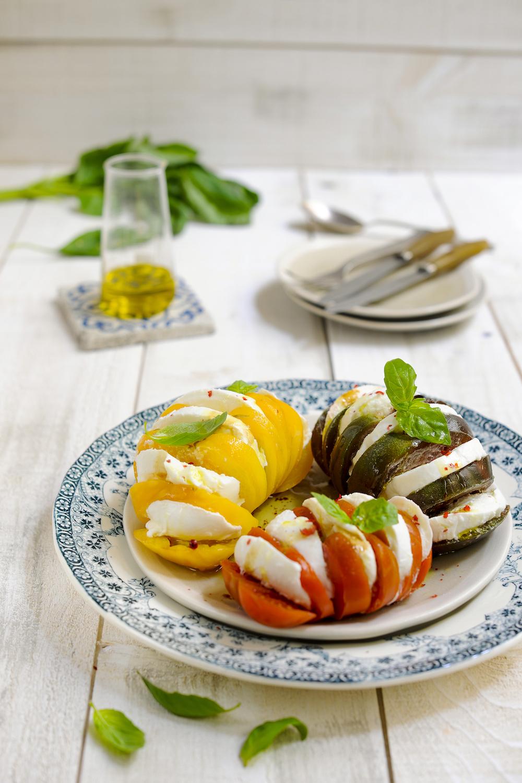 labelaure blog culinaire photographe culinaire food stylist idee recette tomates mozarella rapide et pas chère