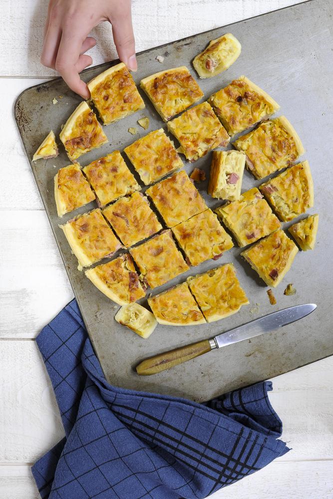 labelaure blog culinaire photographe culinaire digital content création recette tarte oignon Roscoff