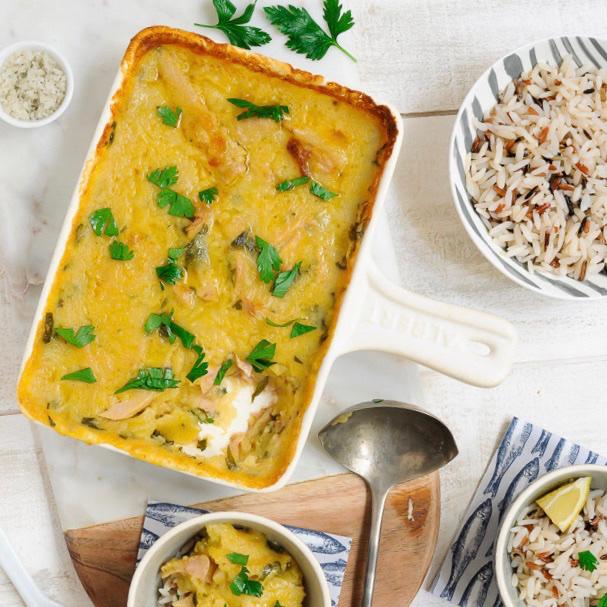 Un plat des plus réconfortants : le gratin de filets de thon