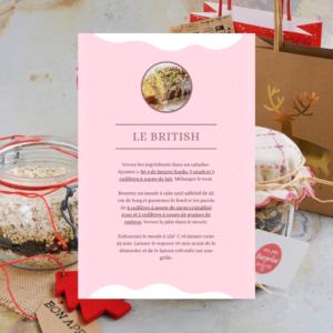 labelaure agence de communication culinaire lyon 2 dit kit gourmand petit budget noel cake citron gingembre