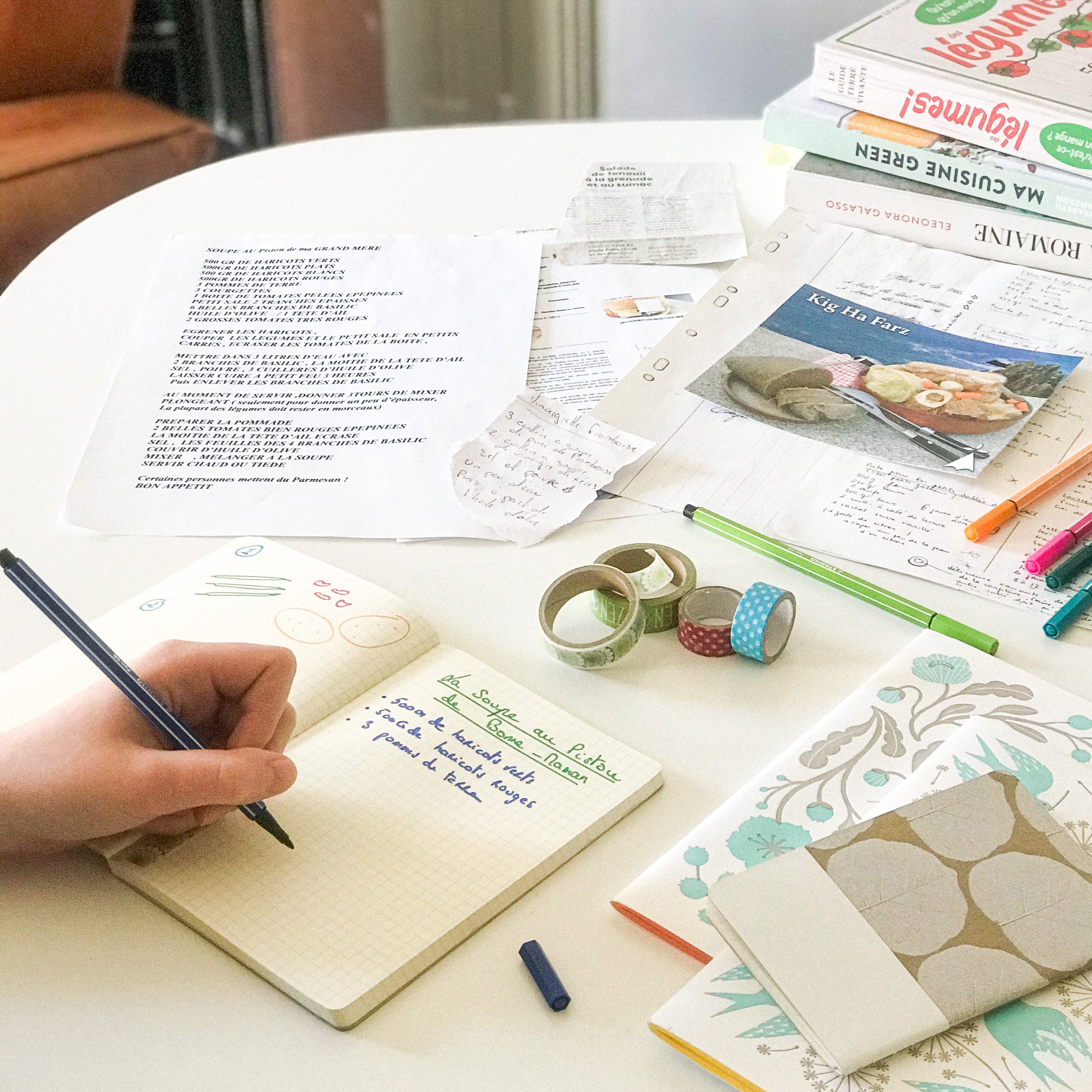 TUTO DÉCO : créez un joli livre de recettes fait maison