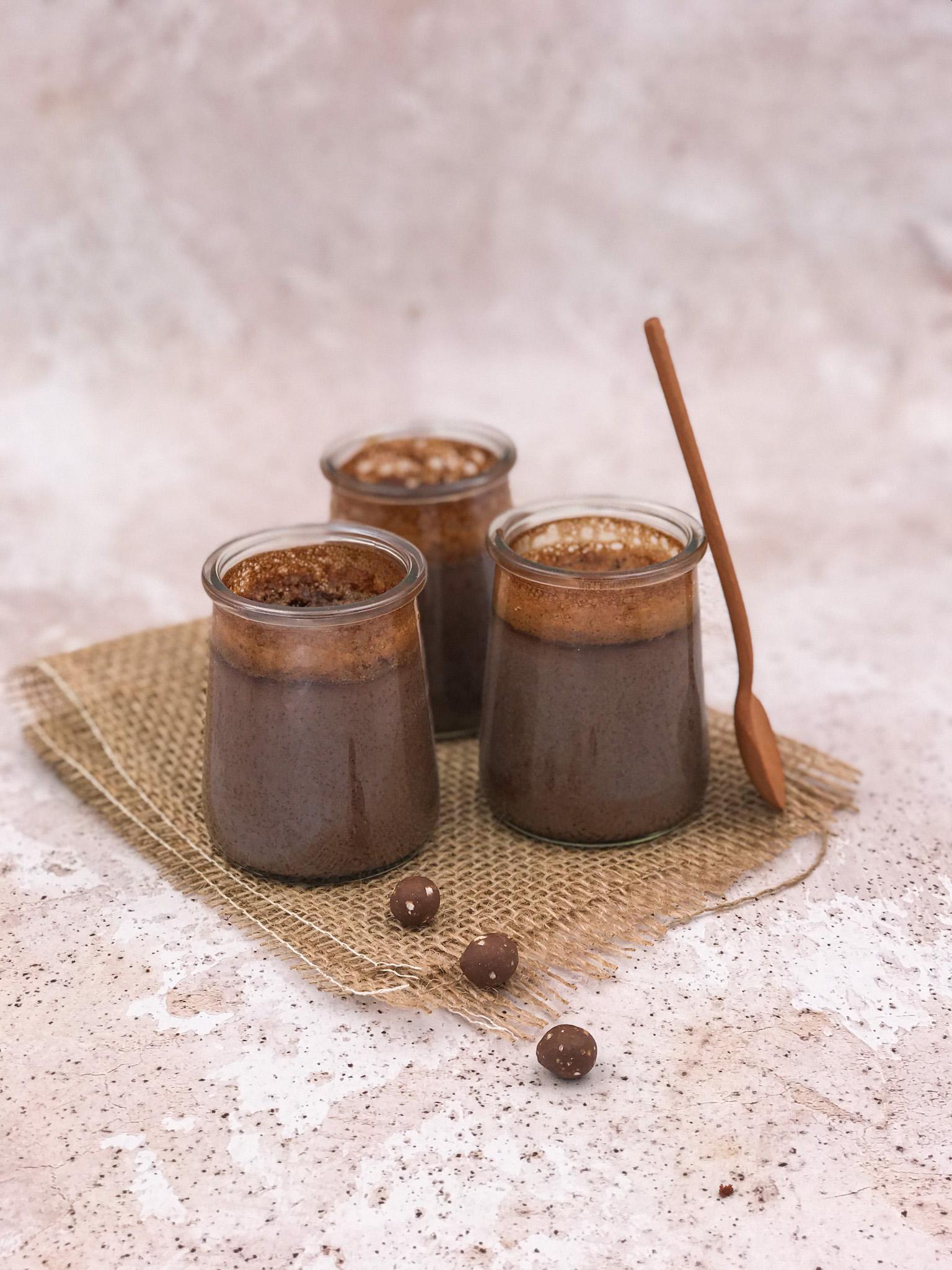 labelaure journal de confinement recettes spécial chocolat petits pots de crème de ma bonne-maman au chocolat fait maison restez chez vous stay home #onapplaudit