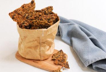 Envie de cracker ? Ma recette croustillante et vitaminée de biscuit salé