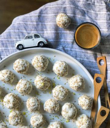 Ma recette de Pentecôte : la recette des rochers coco ricotta