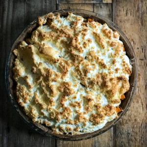 blog labelaure food stylist styliste culinaire photographie culinaire création recettes tarte meringuée fêta patates douces oignons