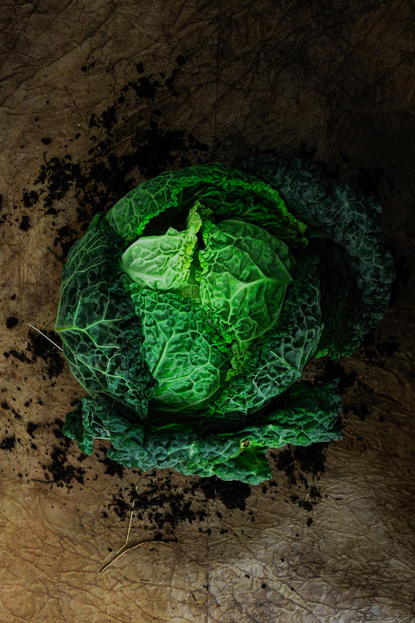 blog labelaure food stylist photographe culinaire empreinte carbone score carbone CO2 faible étiquette A+ chou vert frisé marché local