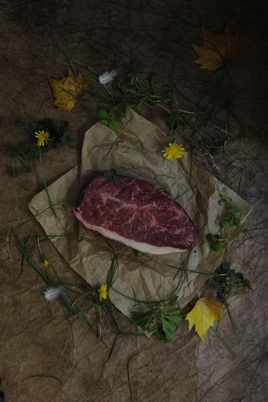 blog labelaure food stylist photographe culinaire empreinte carbone score carbone CO2 elevé étiquette E viande de boeuf boucherie bello lyon