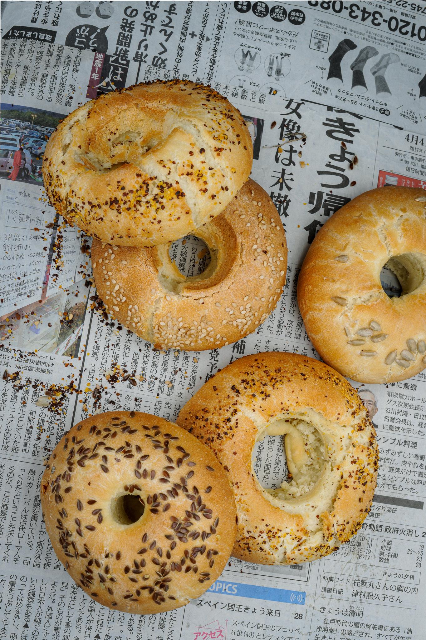 recette photographie culinaire auteure labelaure bagels graines de maison fait-maison