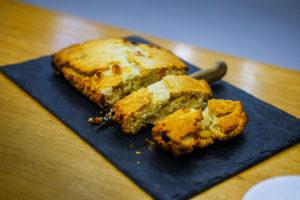 recette photographie culinaire auteure labelaure recette Cédric Grolet Le Meurice scone raisins blonds crumble amandes recette fait-maison agence culinaire